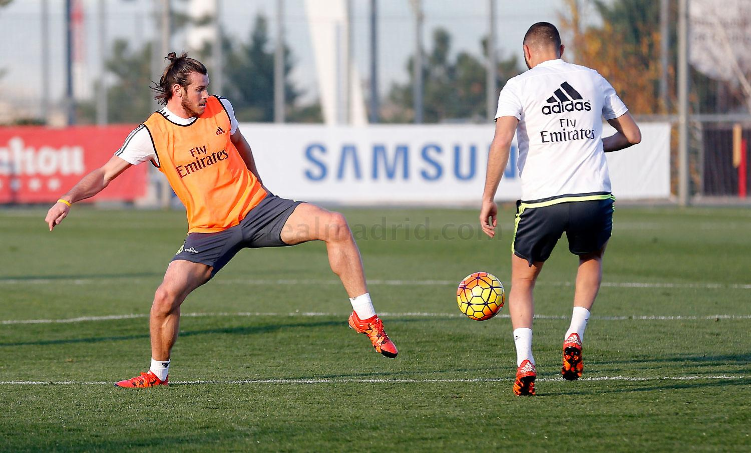 Real Madrid - Entrenamiento del Real Madrid - 18-11-2015