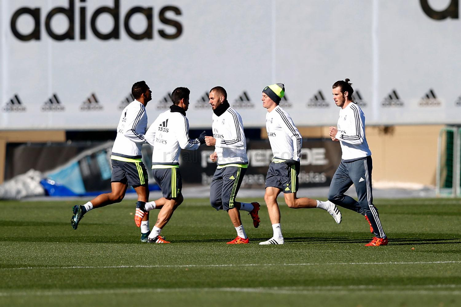 Real Madrid - Entrenamiento del Real Madrid - 23-11-2015