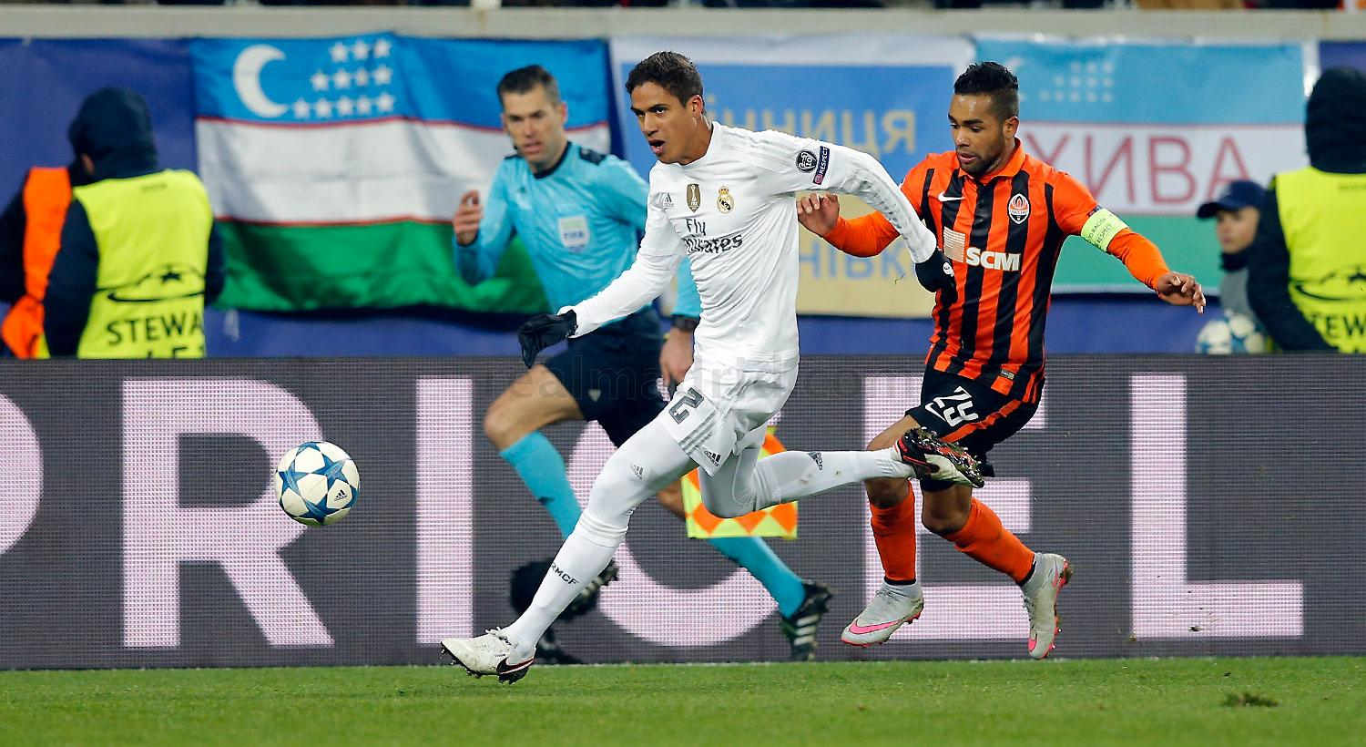 Real Madrid - Shakhtar Donetsk - Real Madrid - 25-11-2015