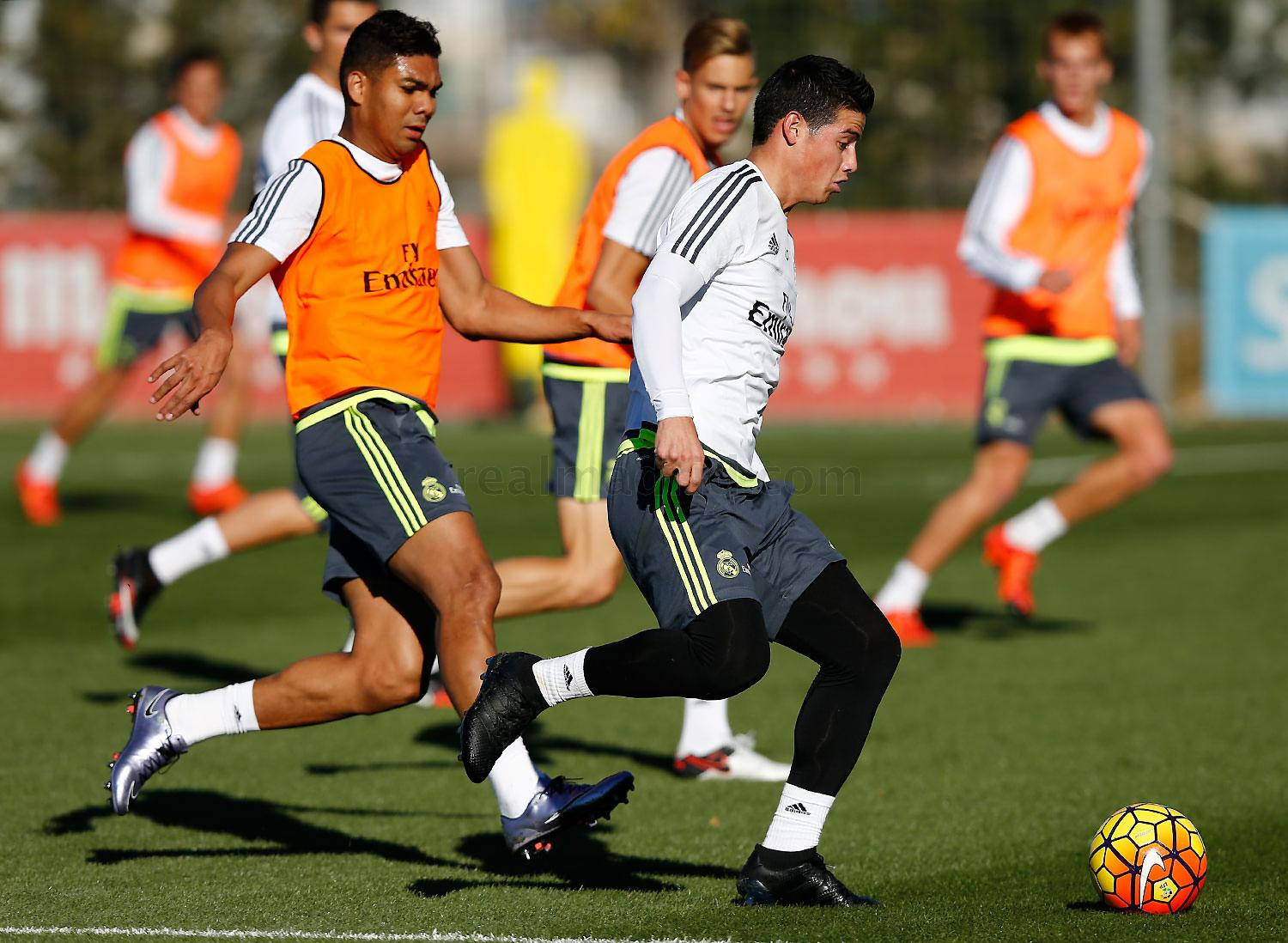Real Madrid - Entrenamiento del Real Madrid - 27-11-2015