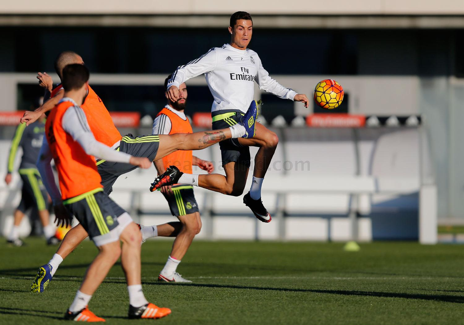 Real Madrid - Entrenamiento del Real Madrid - 28-11-2015