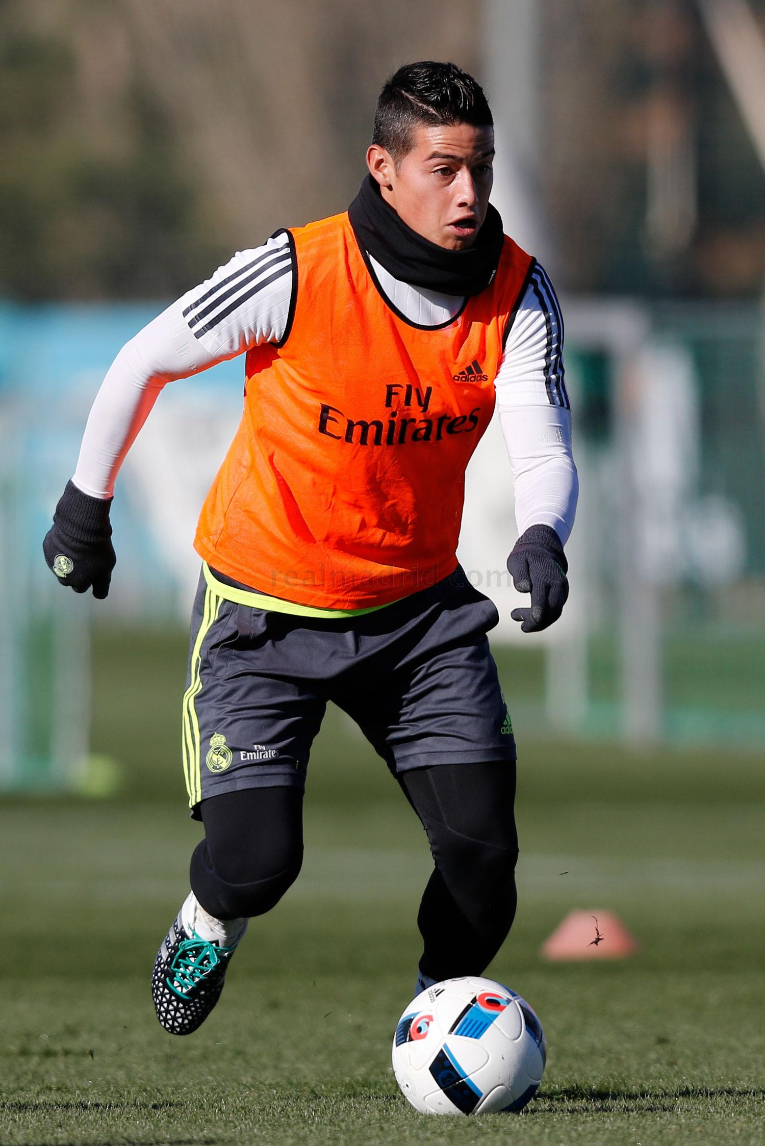Real Madrid - Entrenamiento del Real Madrid - 01-12-2015