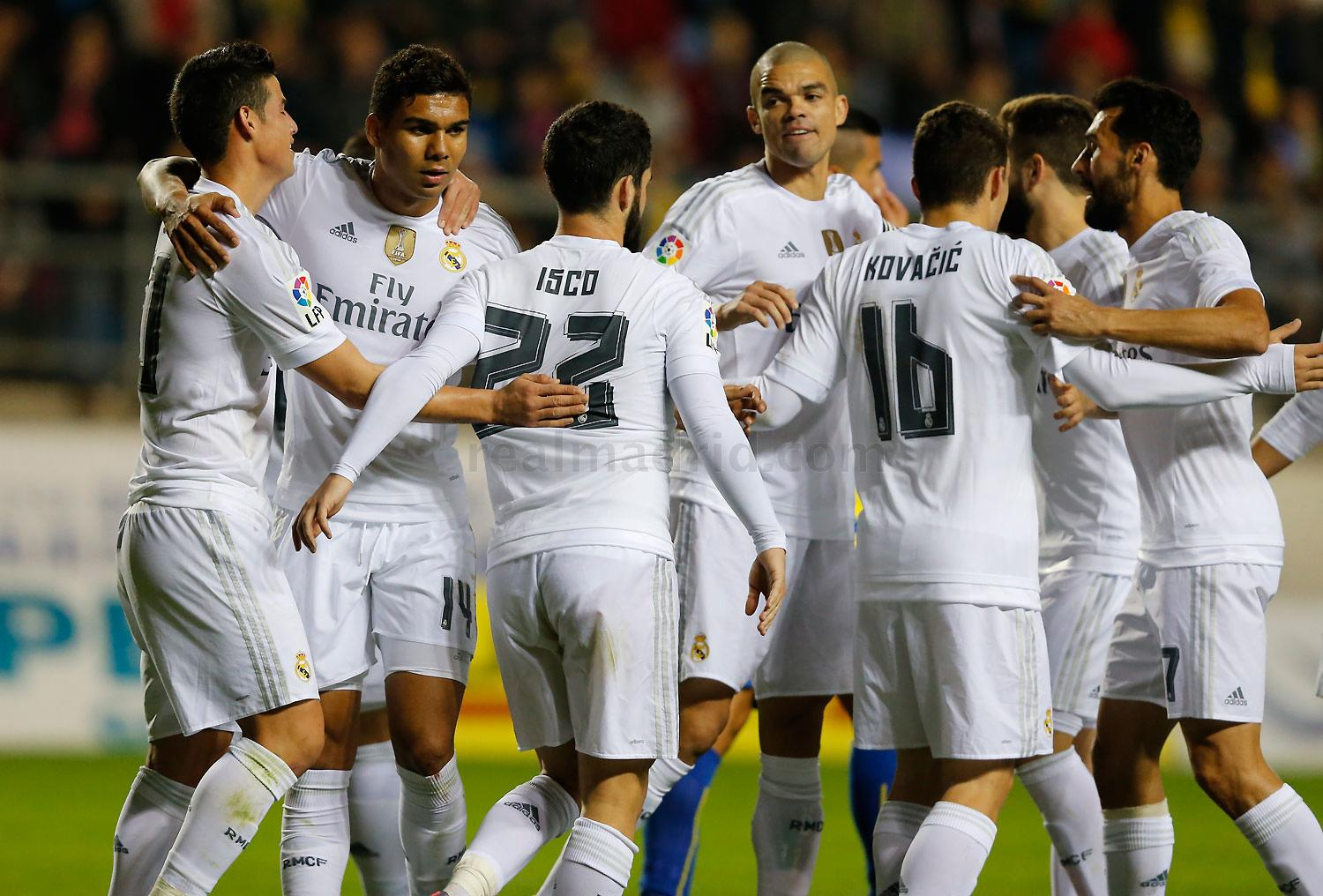 Real Madrid - Cádiz - Real Madrid - 02-12-2015