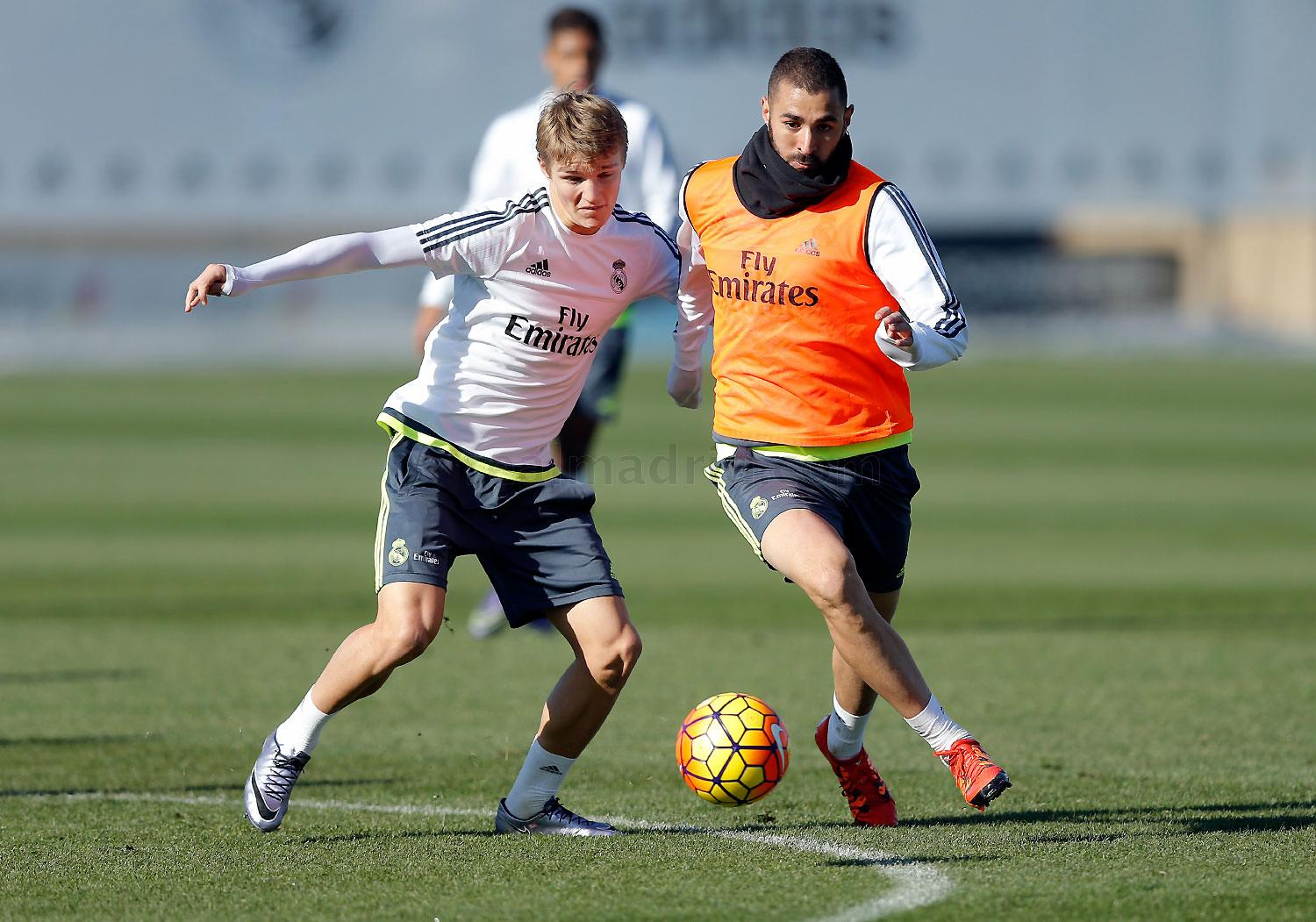 Real Madrid - Entrenamiento del Real Madrid - 03-12-2015