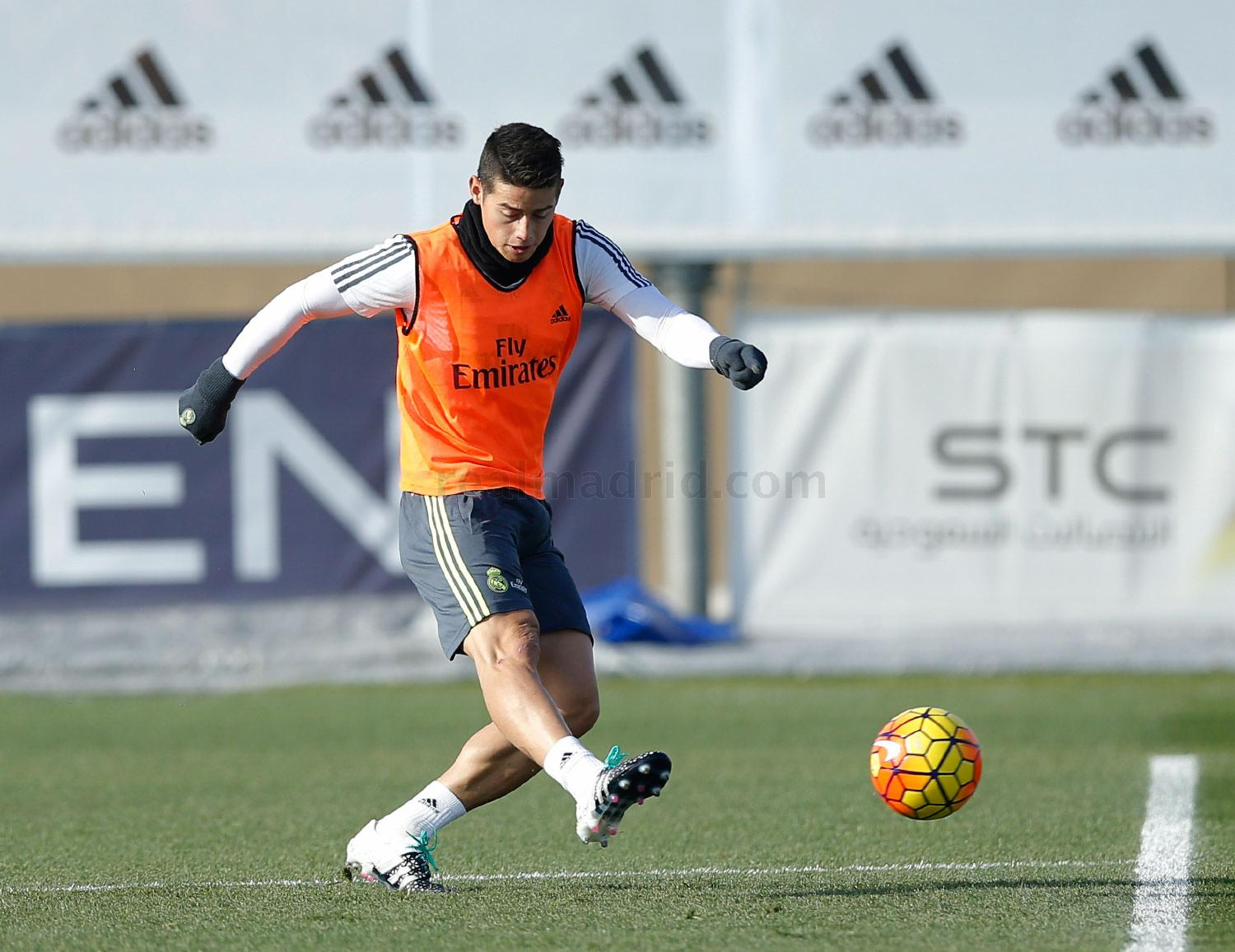 Real Madrid - Entrenamiento del Real Madrid - 04-12-2015
