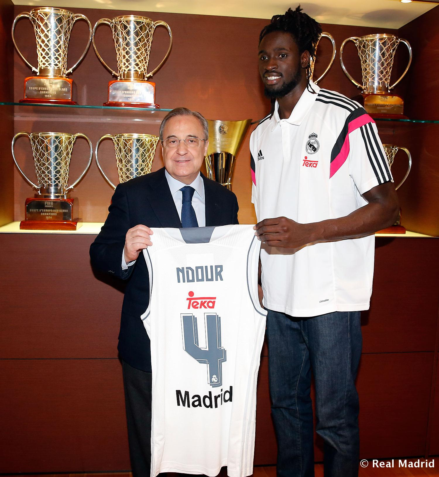 Real Madrid - Maurice Ndour - 05-12-2015