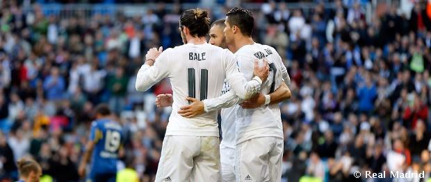 VIDEO: Real Madrid C.F - Getafe C.F 4:1