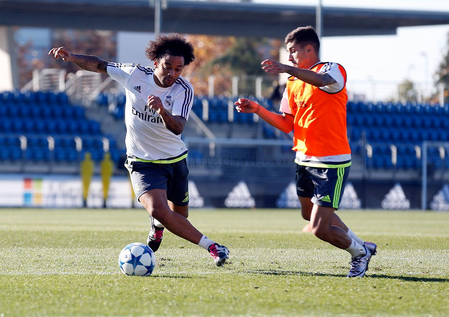 Real Madrid - Entrenamiento del Real Madrid - 06-12-2015