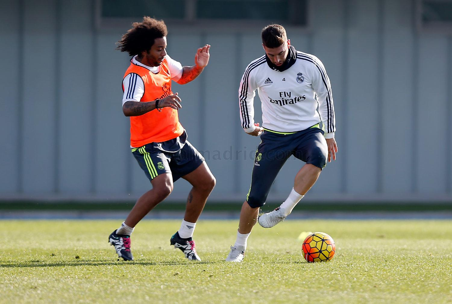 Real Madrid - Entrenamiento del Real Madrid - 10-12-2015
