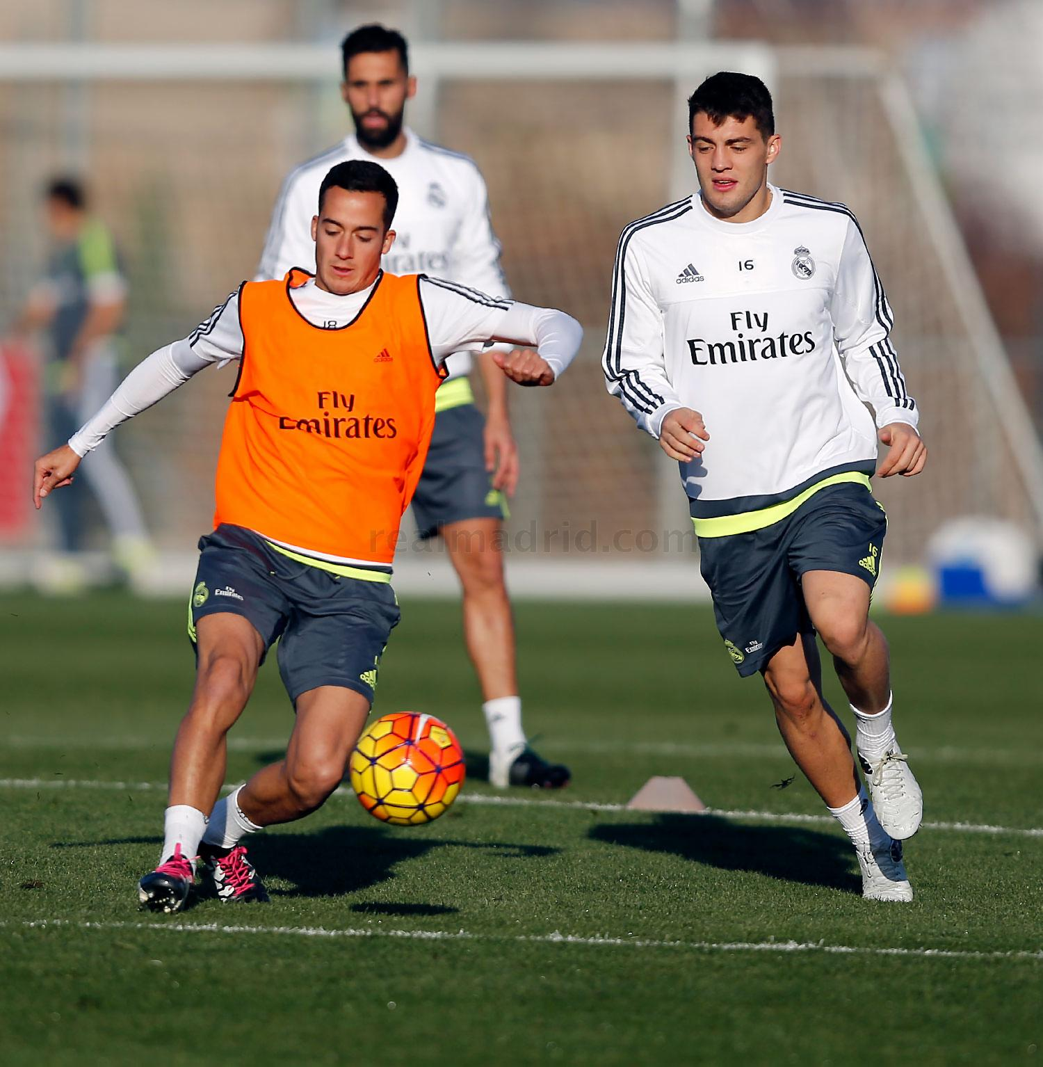 Real Madrid - Entrenamiento del Real Madrid - 11-12-2015