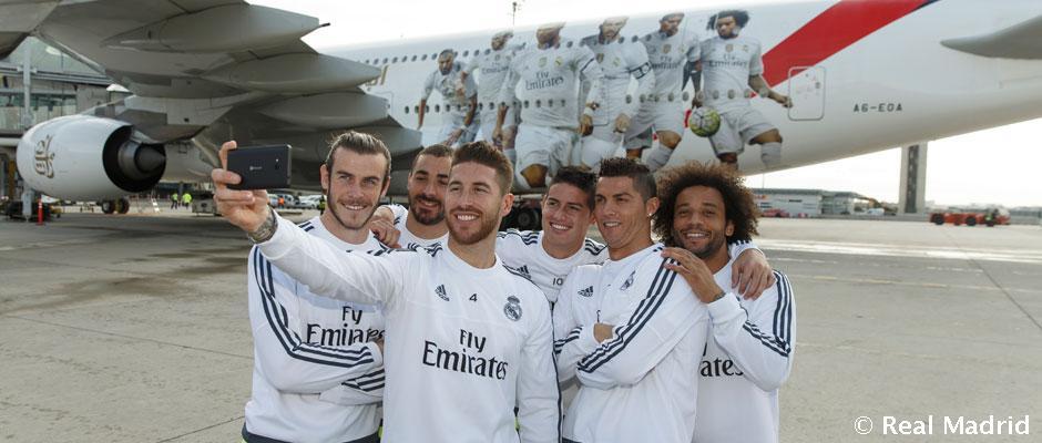 Real Madrid tiene su propio avión Emirates
