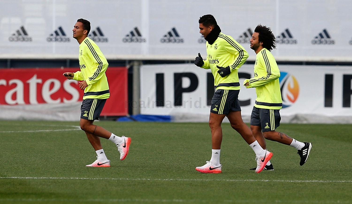 Real Madrid - Entrenamiento del Real Madrid - 14-12-2015