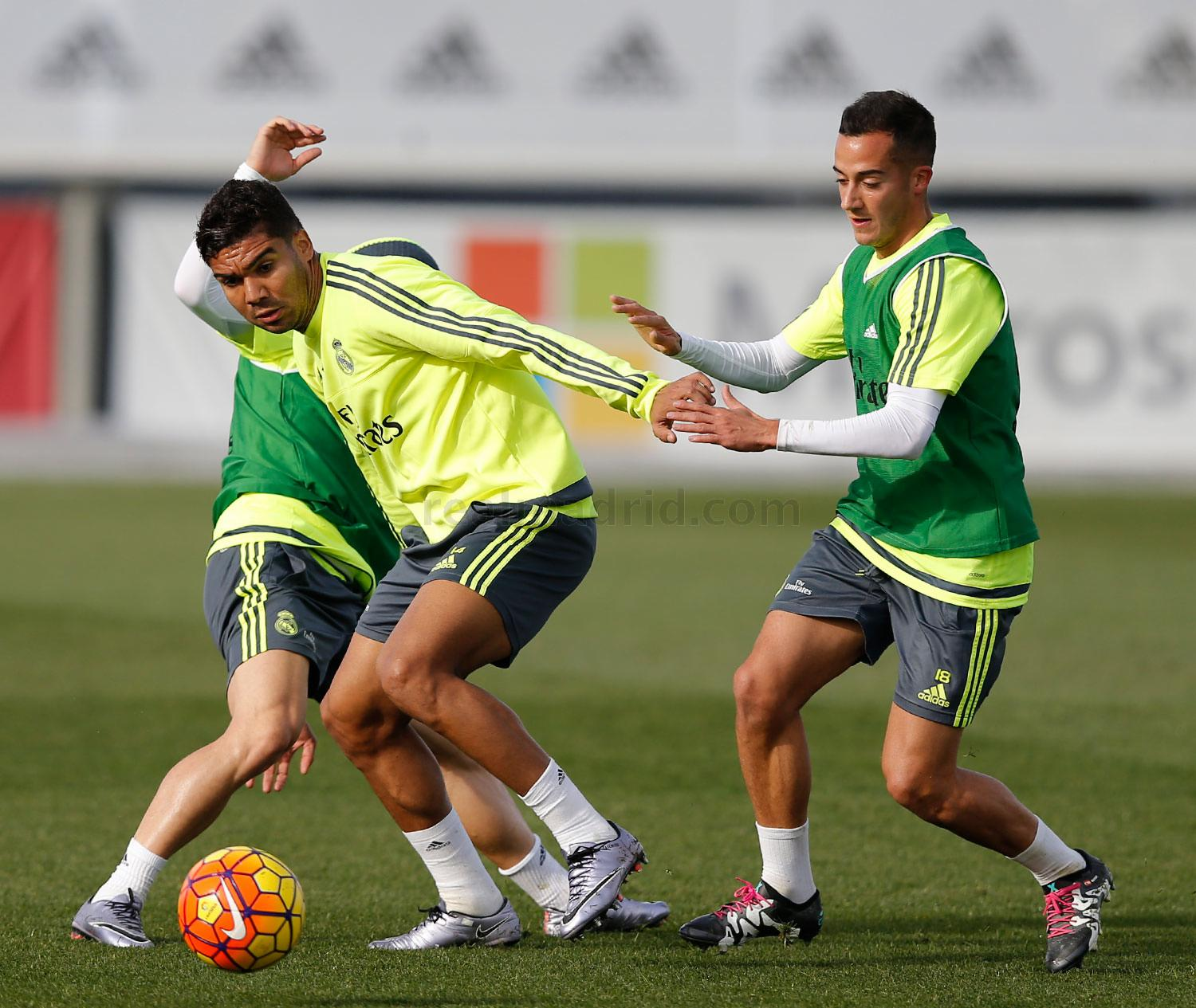 Real Madrid - Entrenamiento del Real Madrid - 17-12-2015