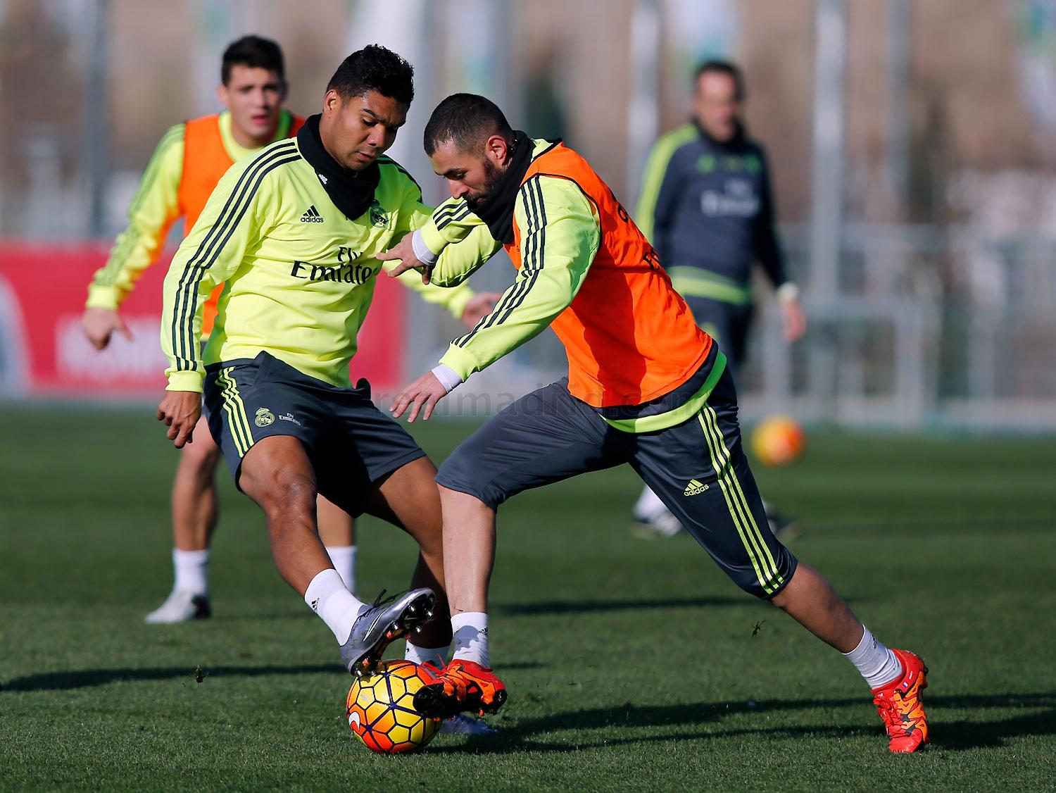 Real Madrid - Entrenamiento del Real Madrid - 19-12-2015