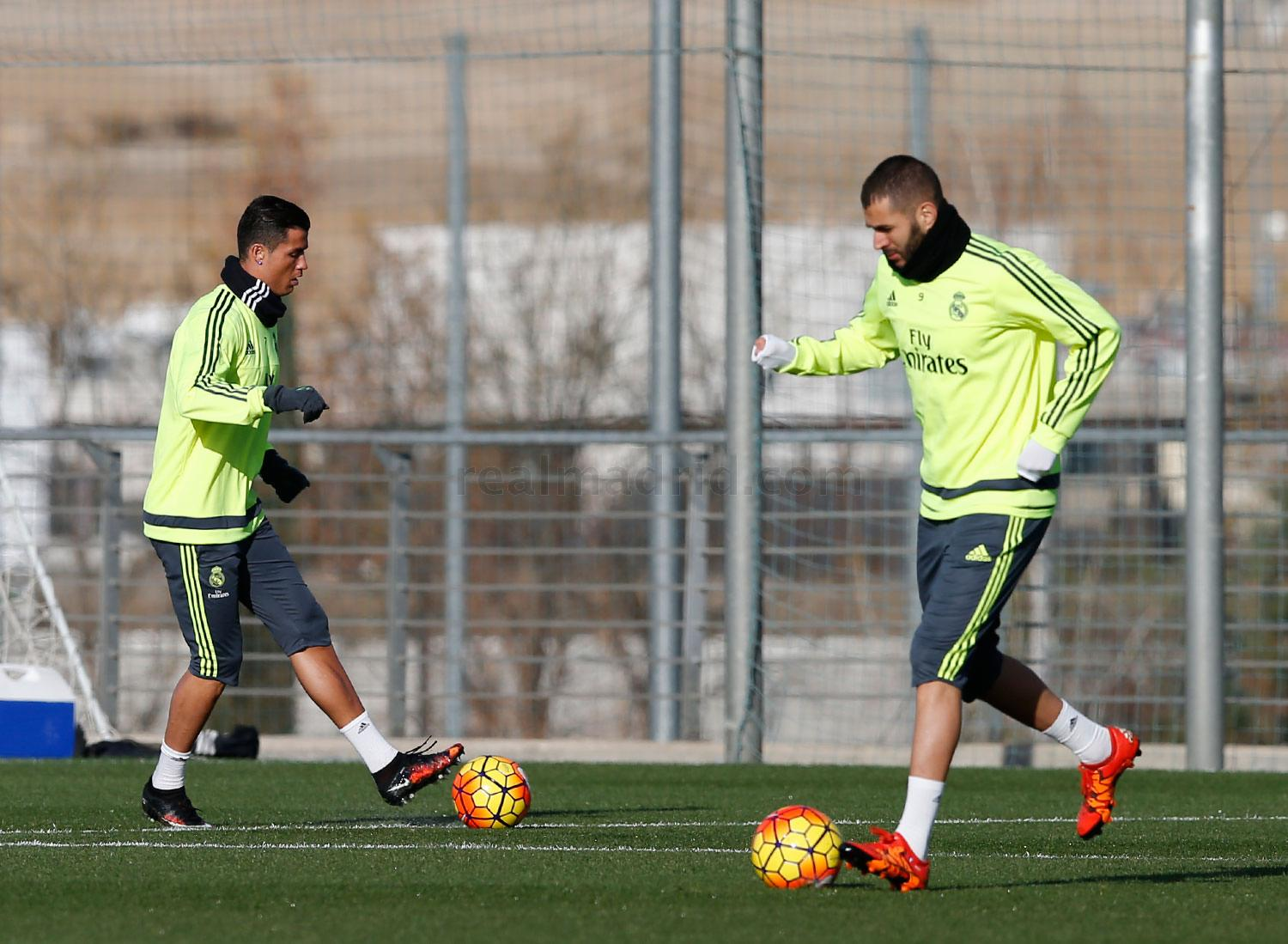 Real Madrid - Entrenamiento del Real Madrid - 27-12-2015