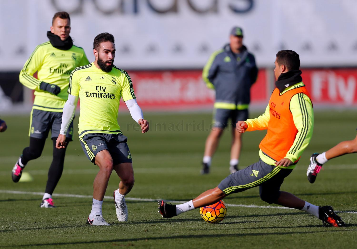Real Madrid - Entrenamiento del Real Madrid - 28-12-2015