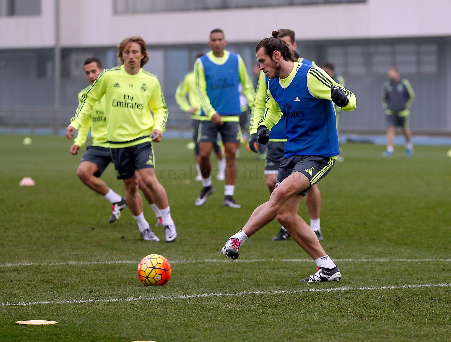 Real Madrid - Entrenamiento del Real Madrid - 29-12-2015