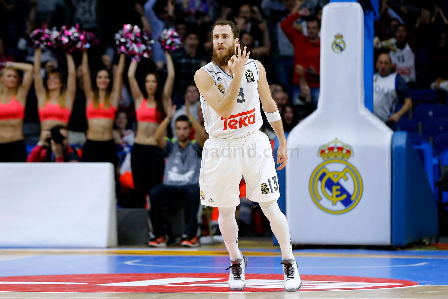 Real Madrid - Real Madrid - Brose Baskets - 30-12-2015
