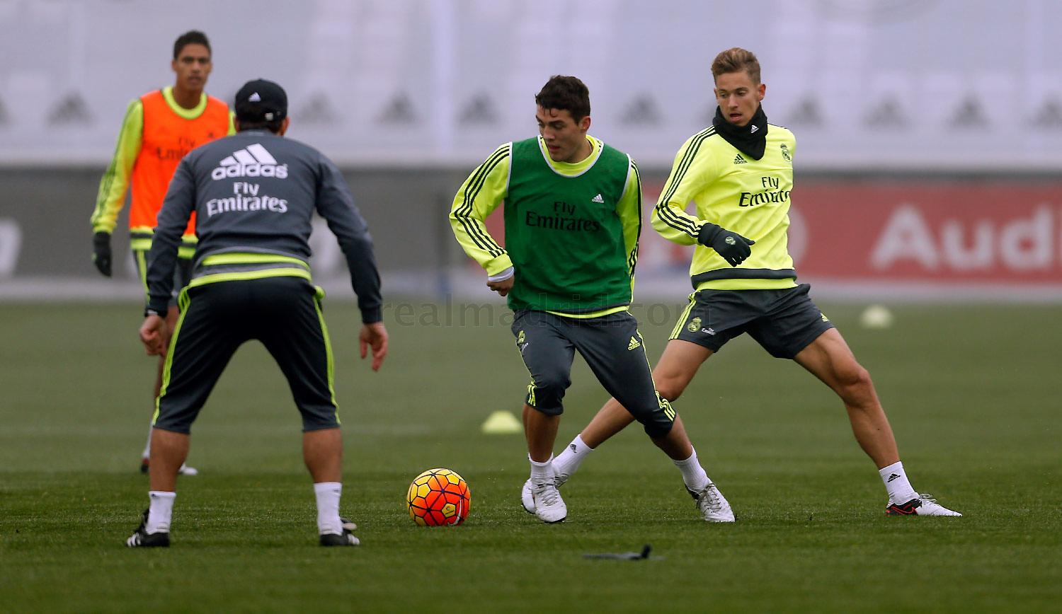 Real Madrid - Entrenamiento del Real Madrid - 31-12-2015