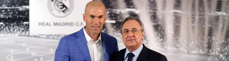 Zinedine Zidane Nuevo Entrenador Del Real Madrid Real Madrid Cf