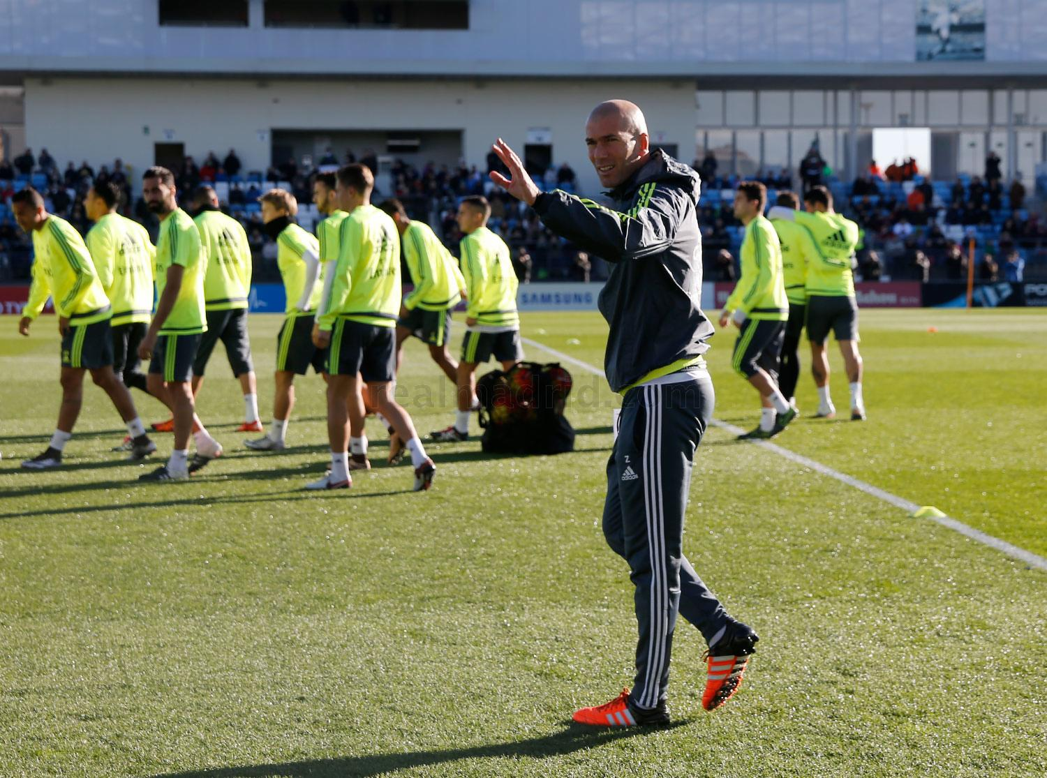 Real Madrid - Entrenamiento del Real Madrid - 05-01-2016