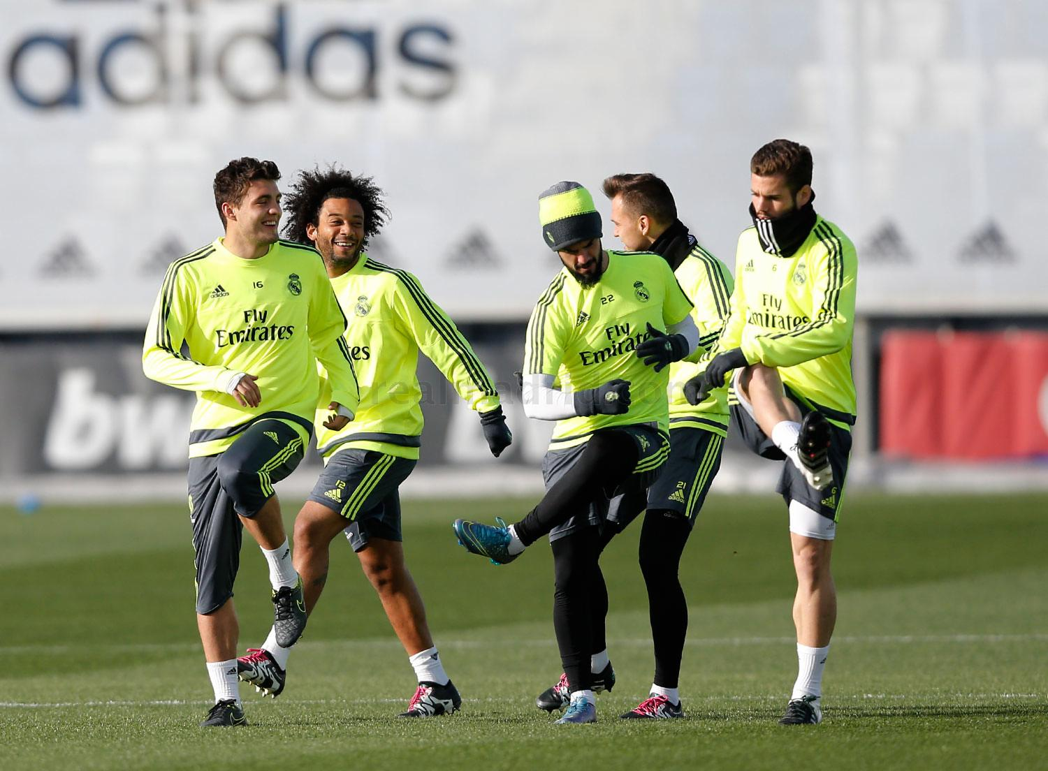 Real Madrid - Entrenamiento del Real Madrid - 06-01-2016