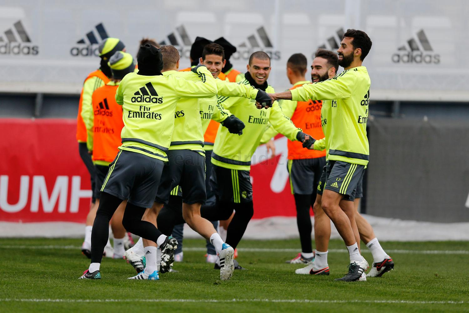 Real Madrid - Entrenamiento del Real Madrid - 07-01-2016