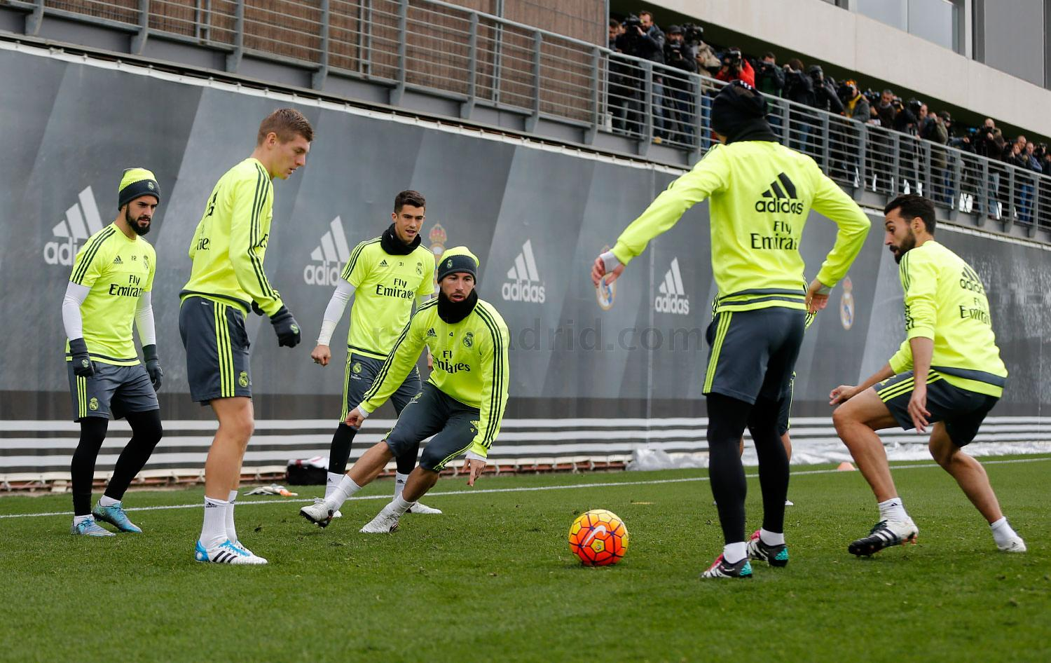 Real Madrid - Entrenamiento del Real Madrid - 08-01-2016