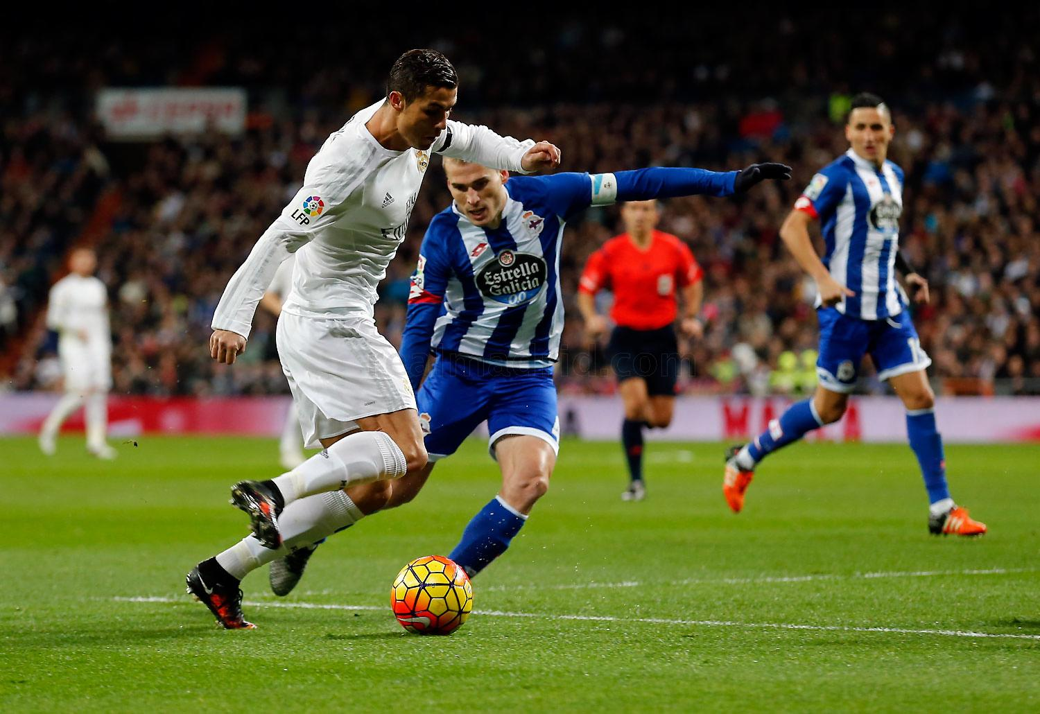 Real Madrid - Real Madrid - Deportivo - 09-01-2016