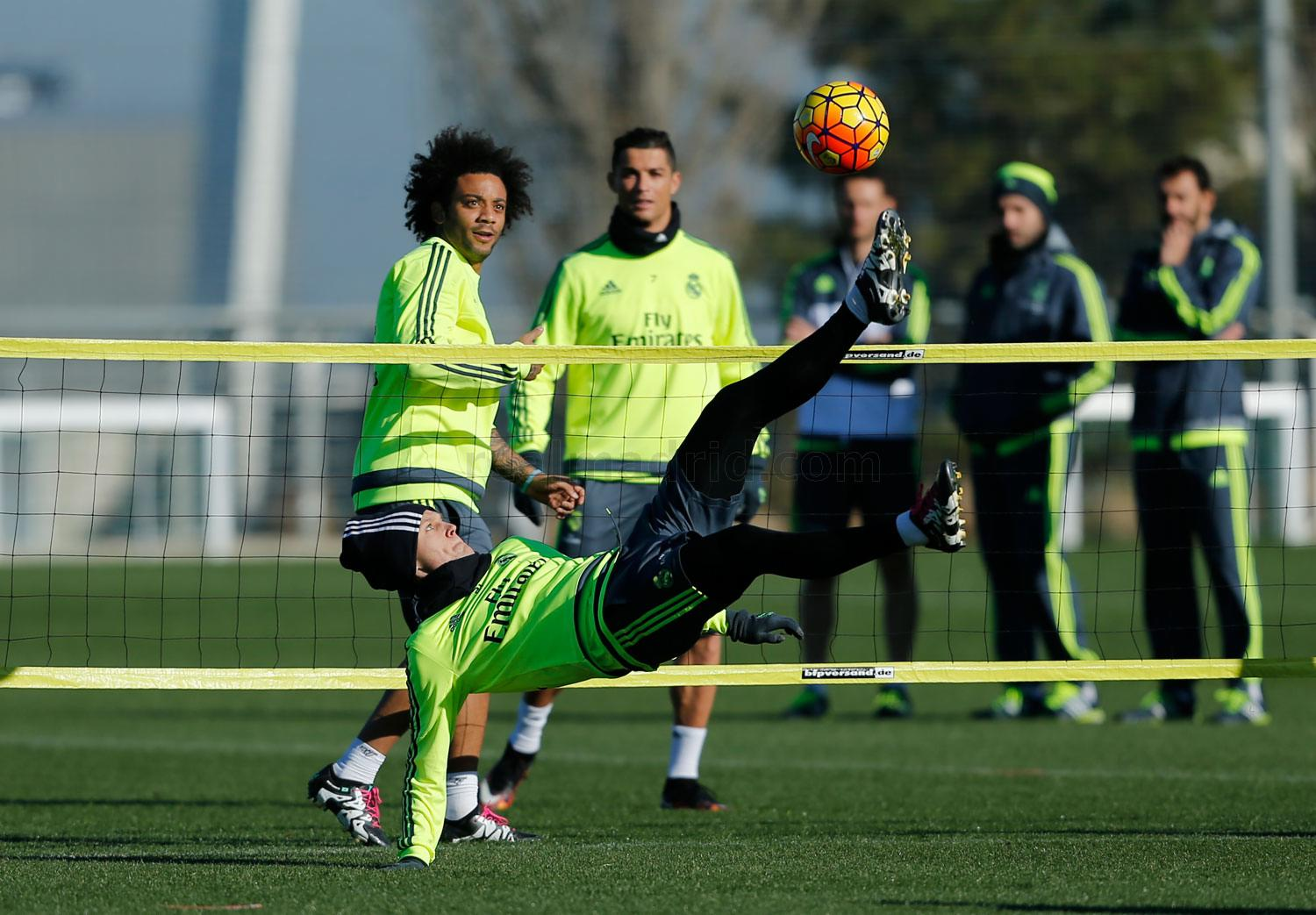 Real Madrid - Entrenamiento del Real Madrid - 12-01-2016