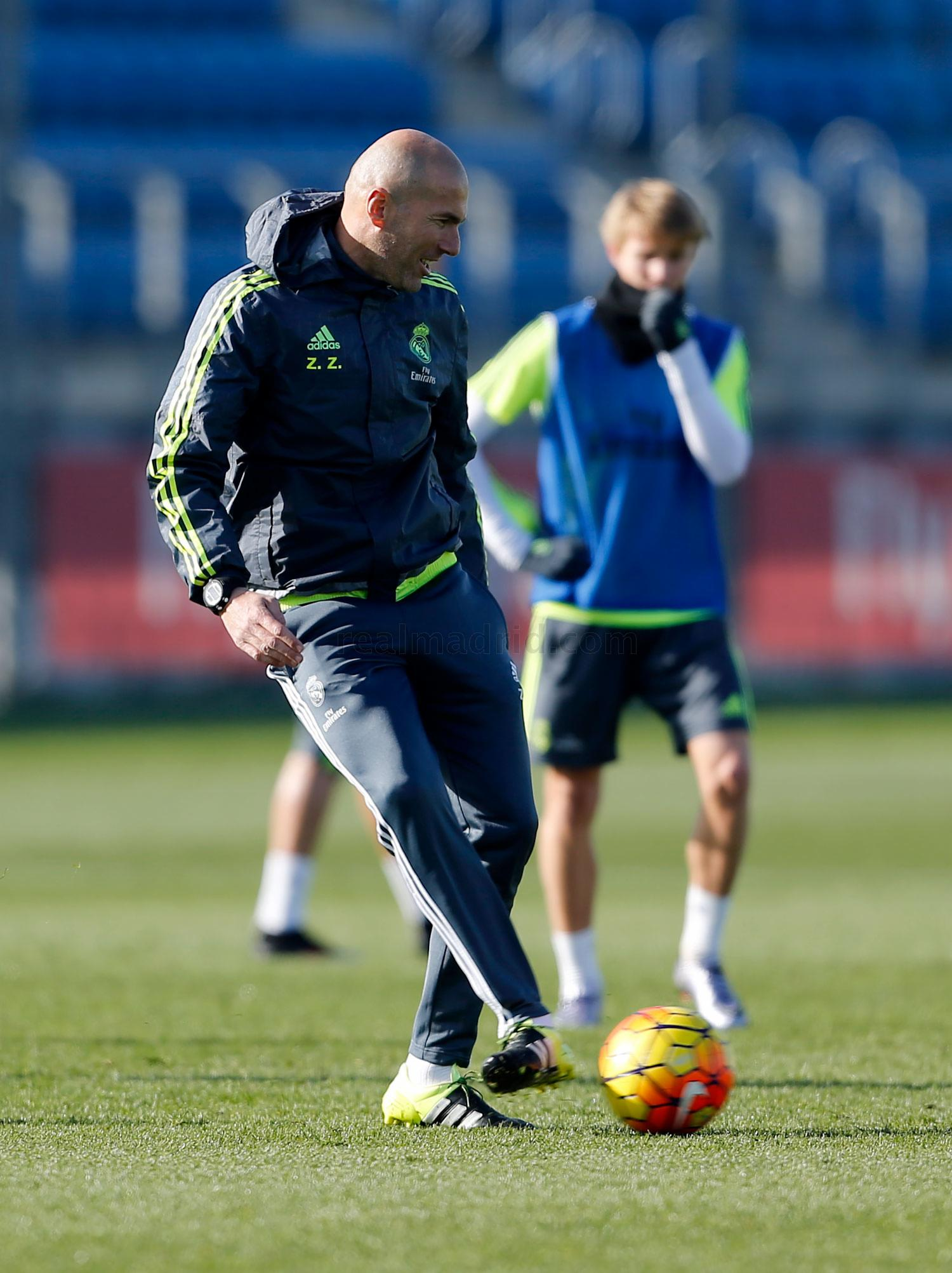 Real Madrid - Entrenamiento del Real Madrid - 13-01-2016