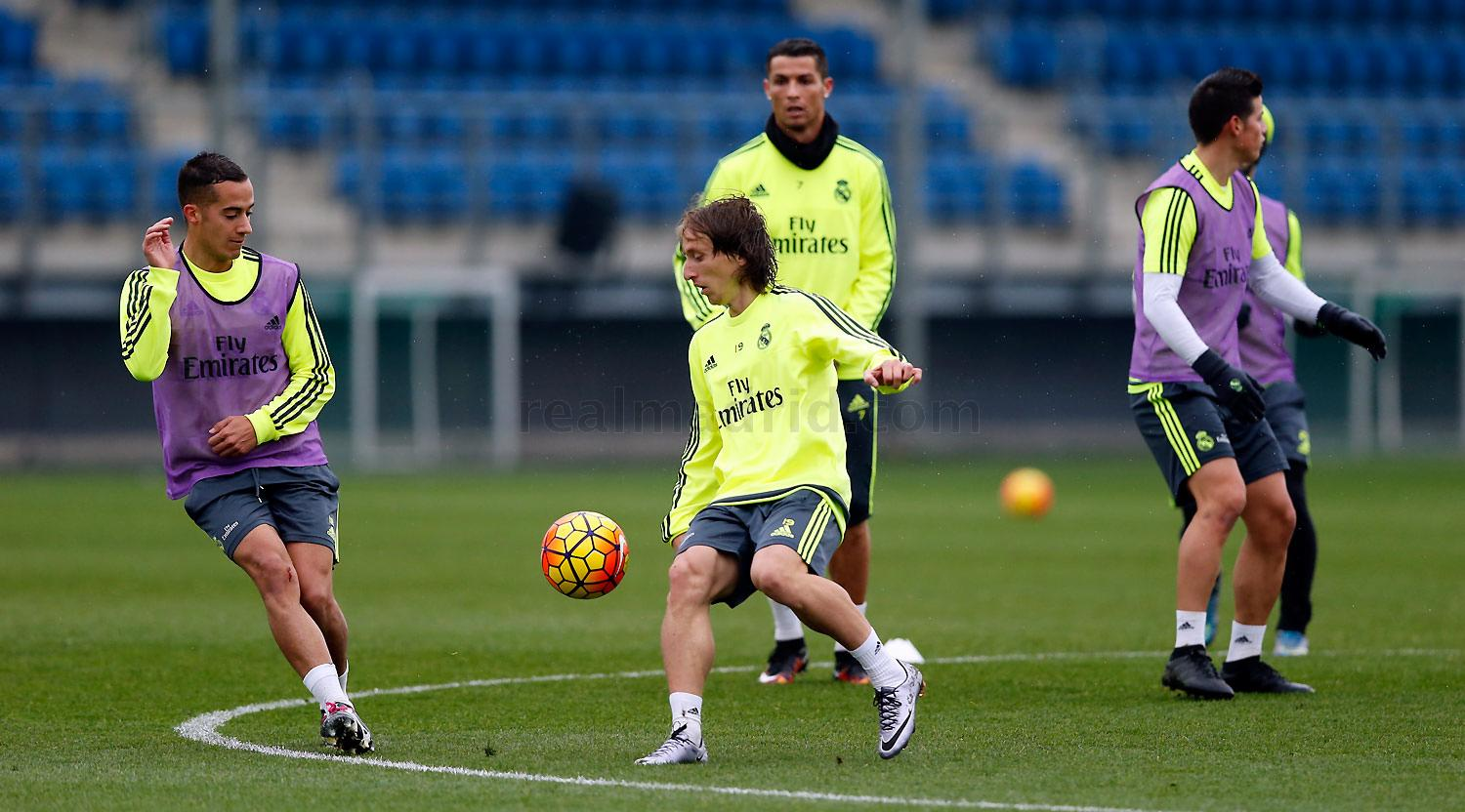 Real Madrid - Entrenamiento del Real Madrid - 14-01-2016