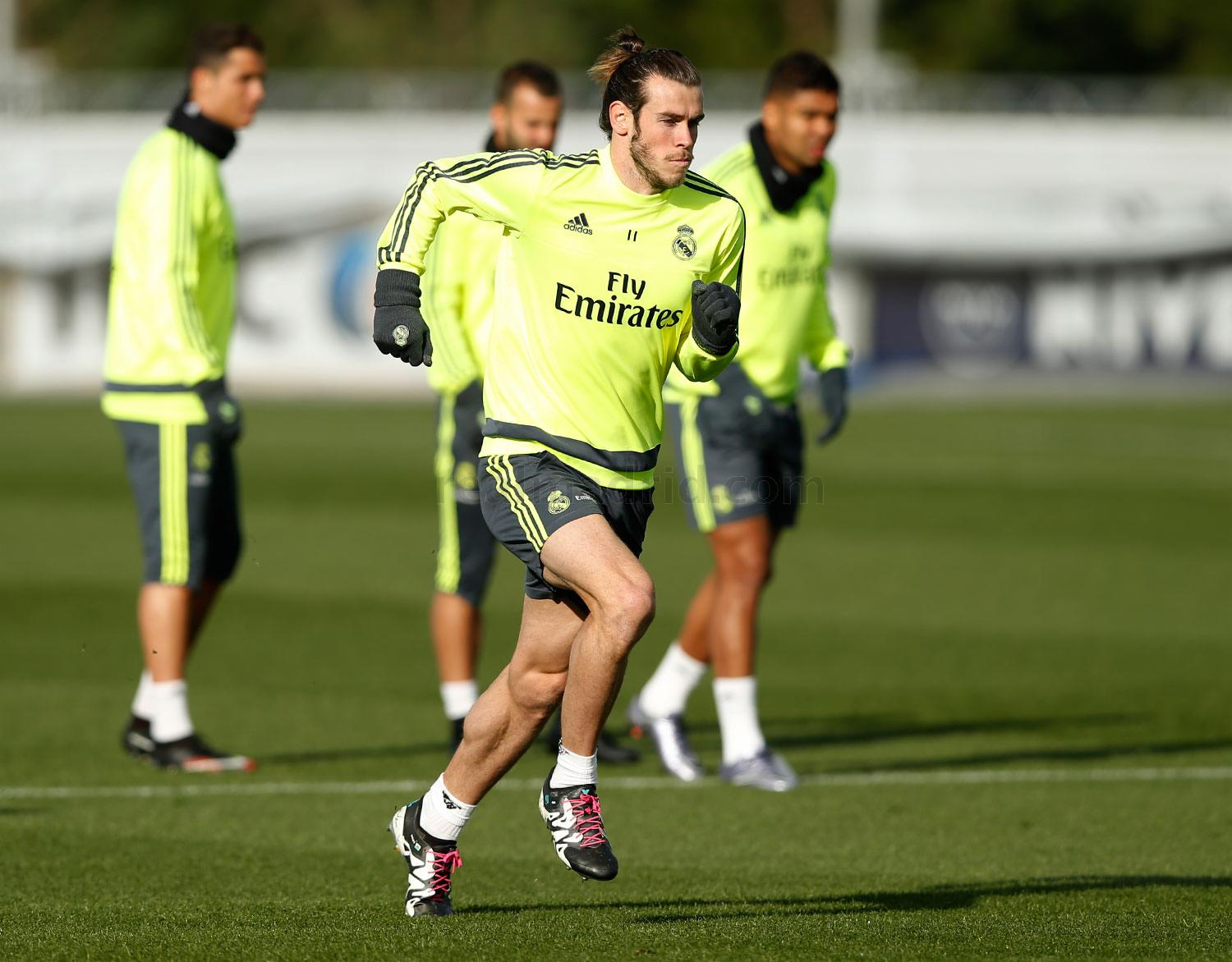 Real Madrid - Entrenamiento del Real Madrid - 15-01-2016
