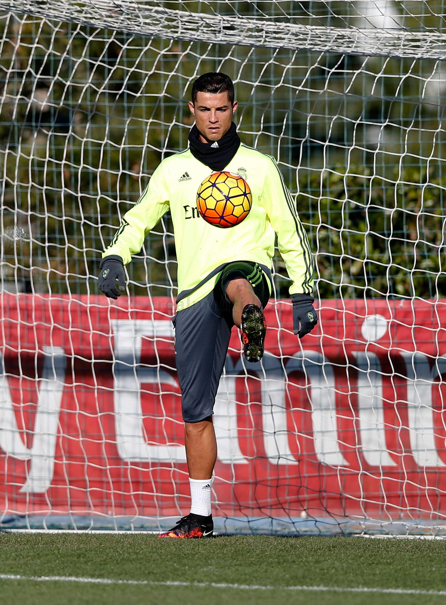 Real Madrid - Entrenamiento del Real Madrid - 16-01-2016