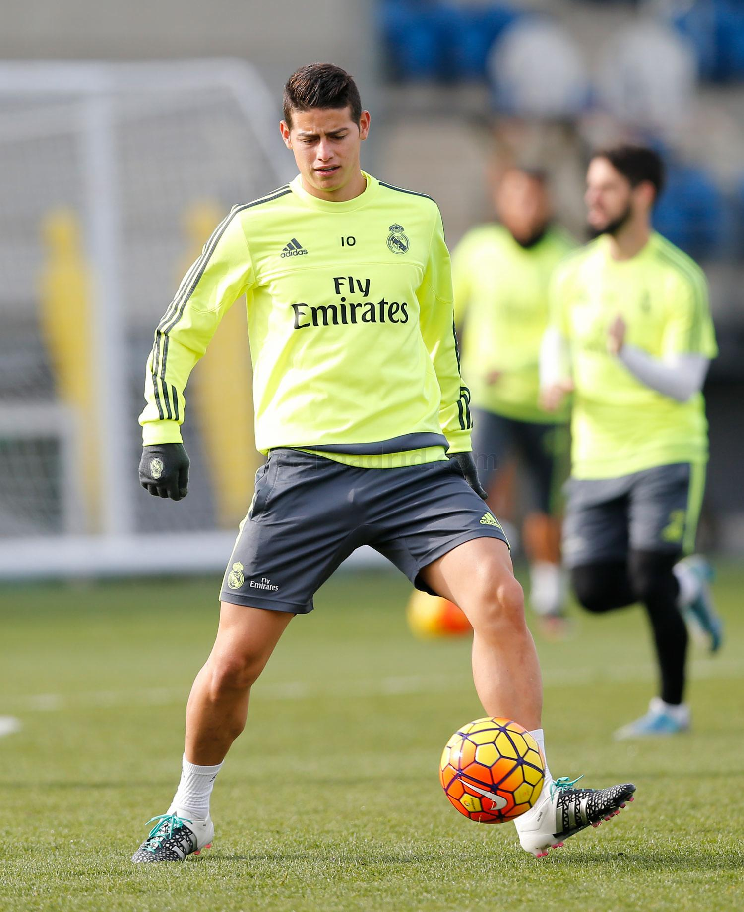 Real Madrid - Entrenamiento del Real Madrid - 19-01-2016
