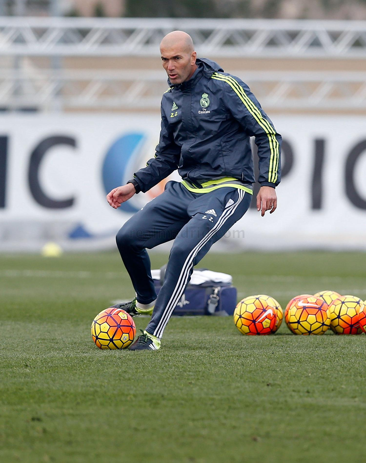 Real Madrid - Entrenamiento del Real Madrid - 20-01-2016