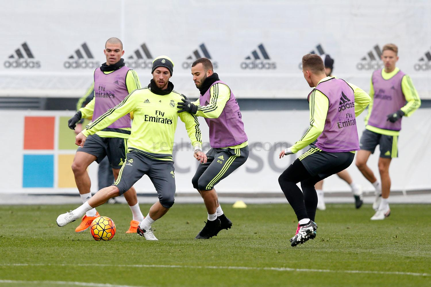 Real Madrid - Entrenamiento del Real Madrid - 21-01-2016