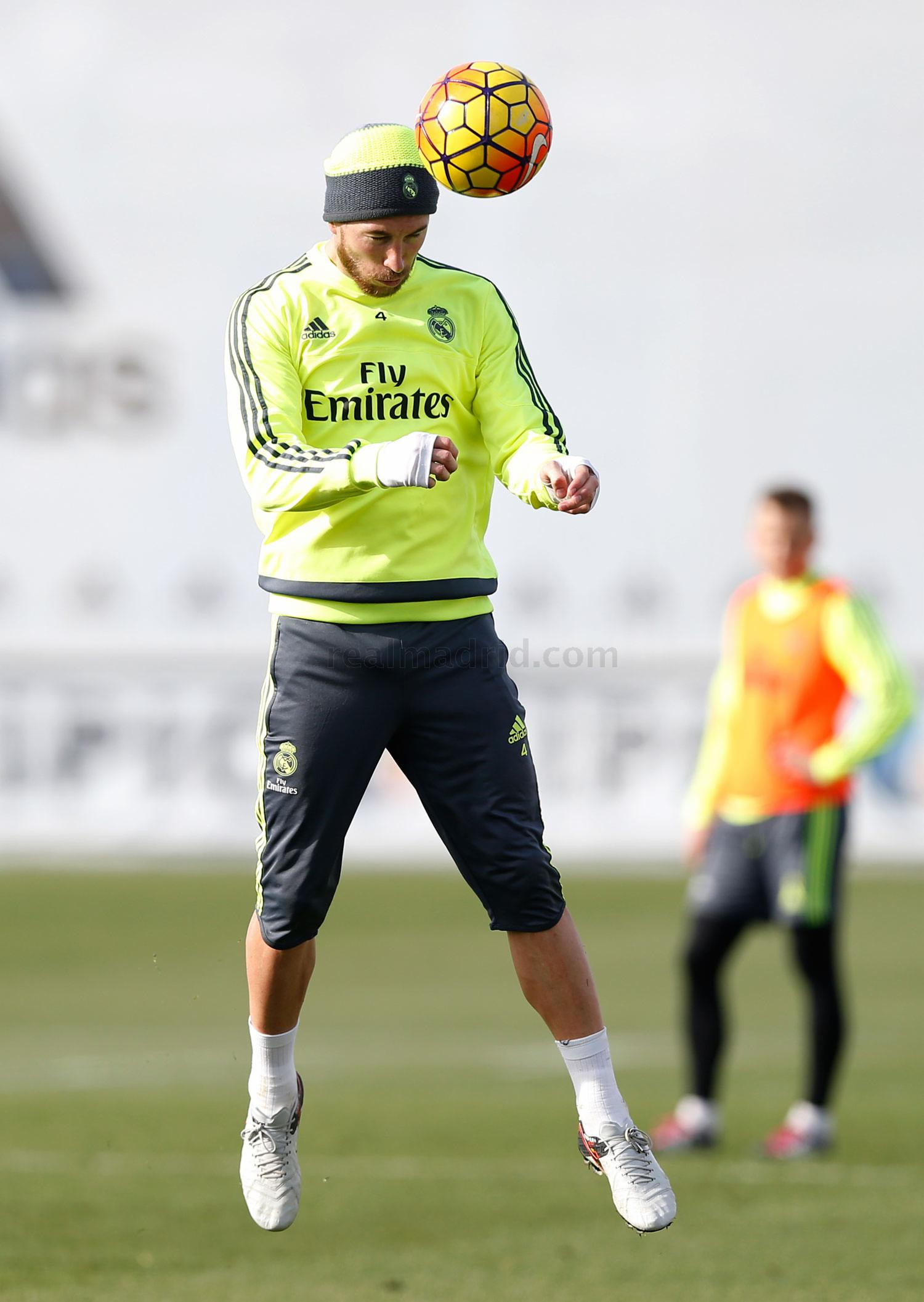 Real Madrid - Entrenamiento del Real Madrid - 23-01-2016