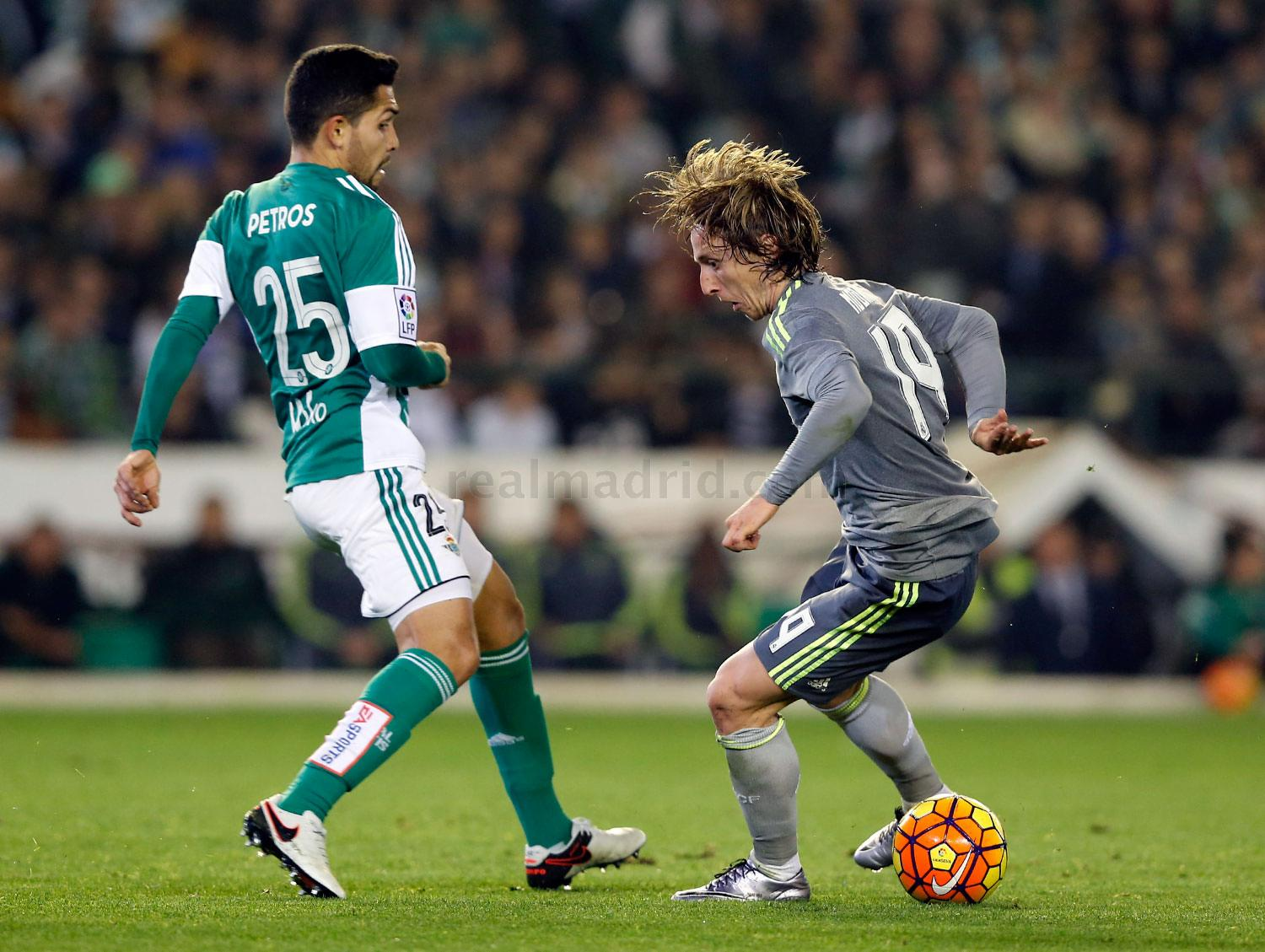 Real Madrid - Betis - Real Madrid - 24-01-2016