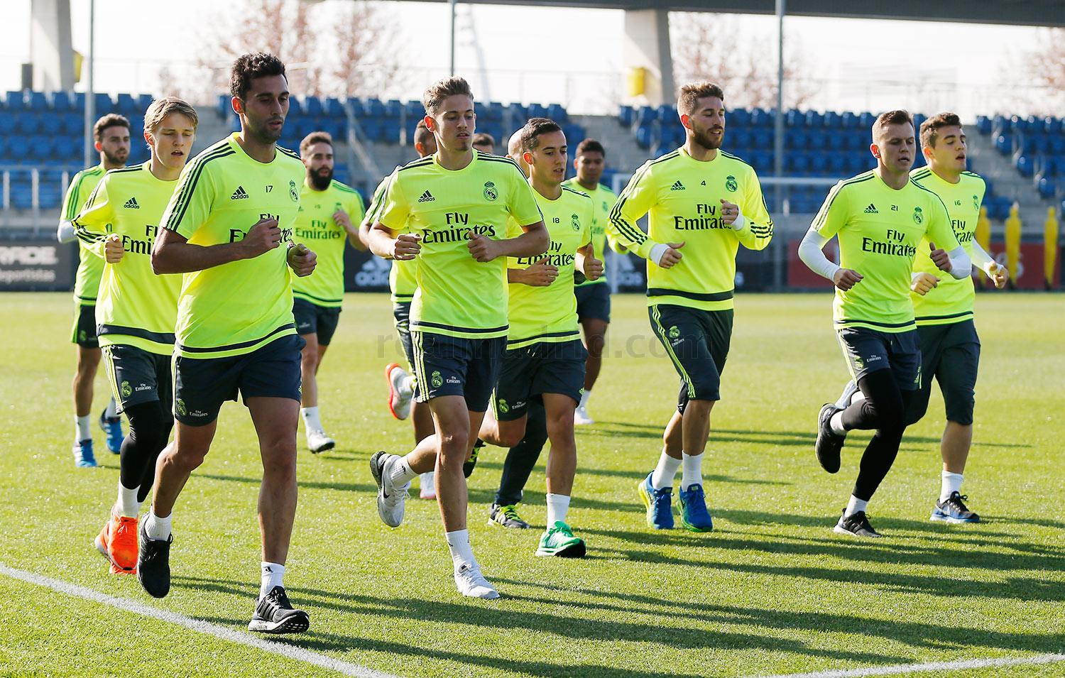 Real Madrid - Entrenamiento del Real Madrid - 26-01-2016
