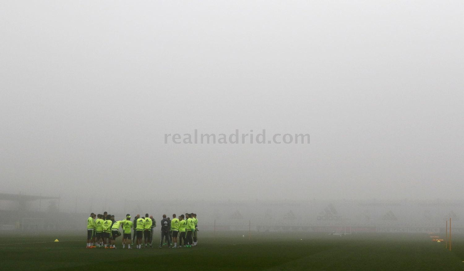 Real Madrid - Entrenamiento del Real Madrid - 27-01-2016