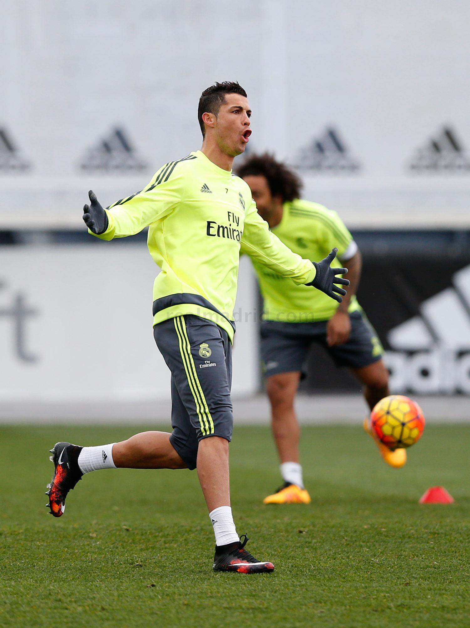 Real Madrid - Entrenamiento del Real Madrid - 29-01-2016