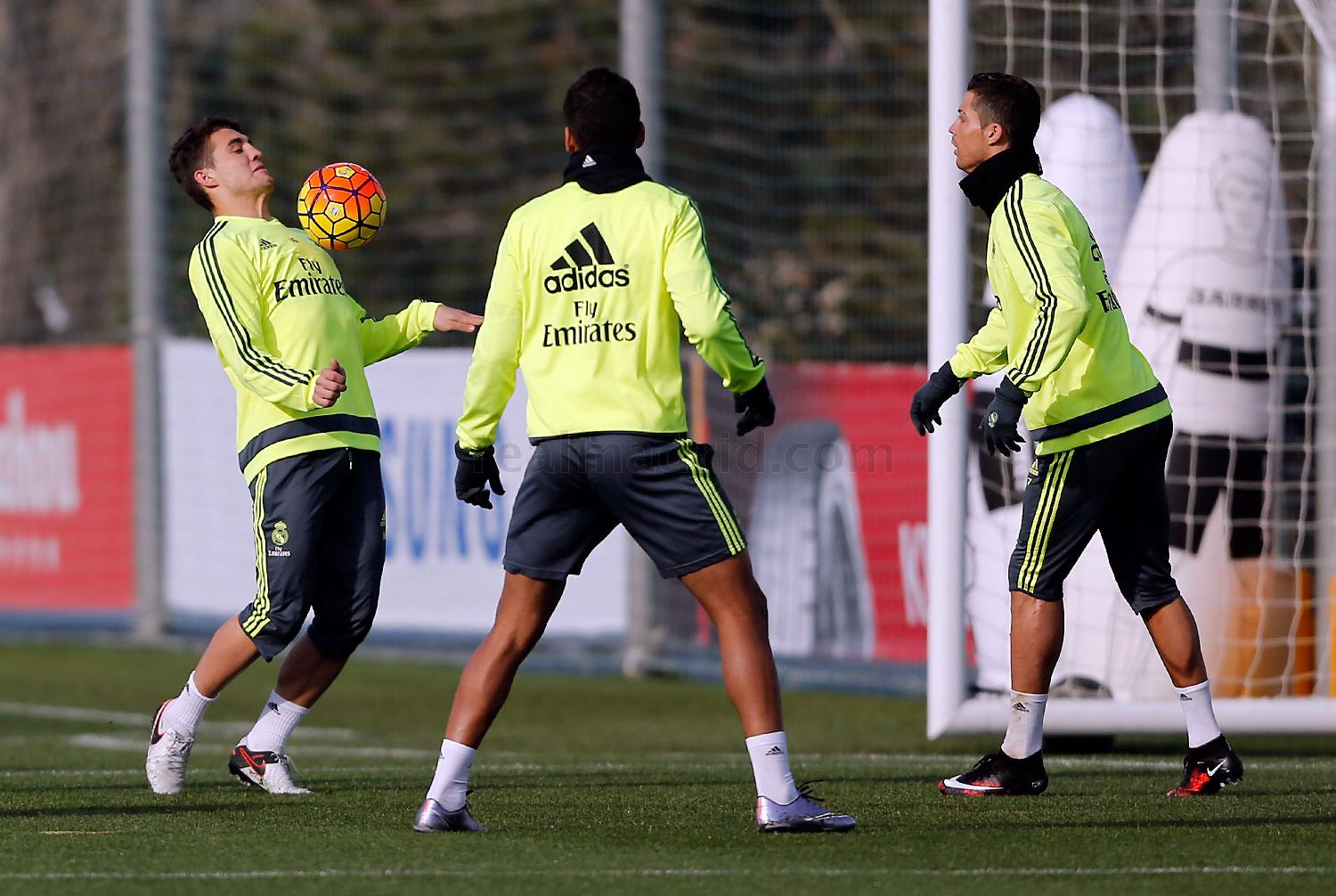 Real Madrid - Entrenamiento del Real Madrid - 30-01-2016