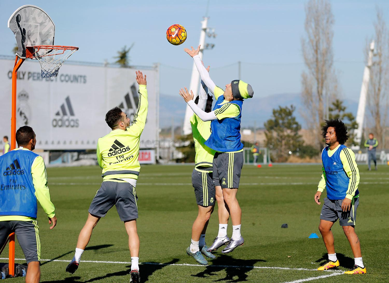 Real Madrid - Entrenamiento del Real Madrid - 03-02-2016