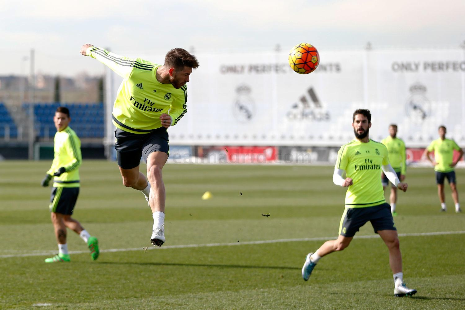 Real Madrid - Entrenamiento del Real Madrid - 05-02-2016