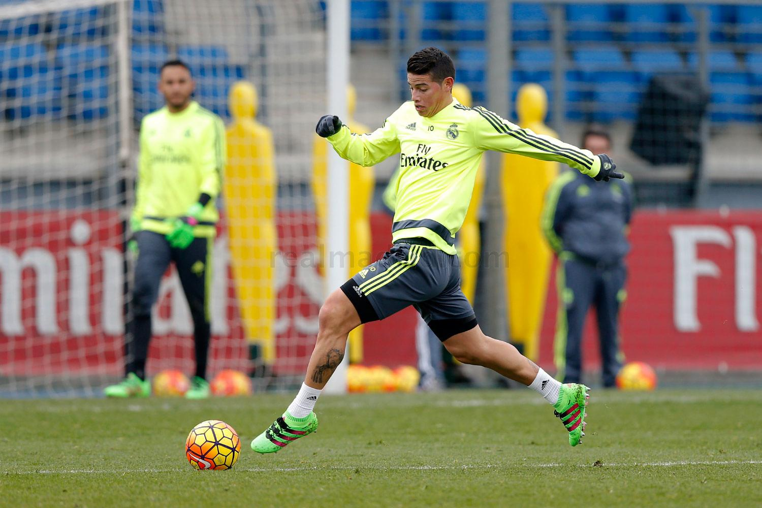 Real Madrid - Entrenamiento del Real Madrid - 06-02-2016