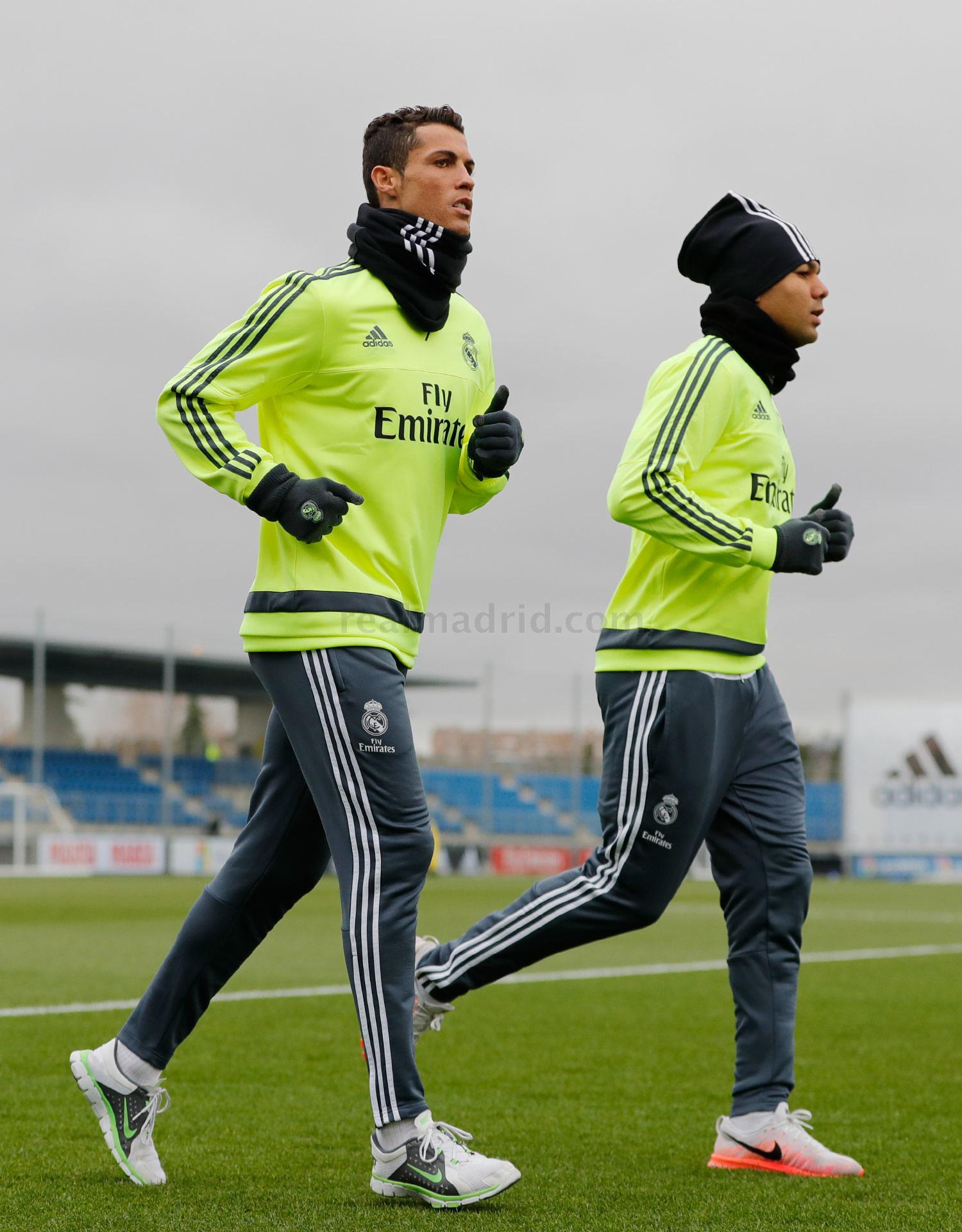 Real Madrid - Entrenamiento del Real Madrid - 09-02-2016