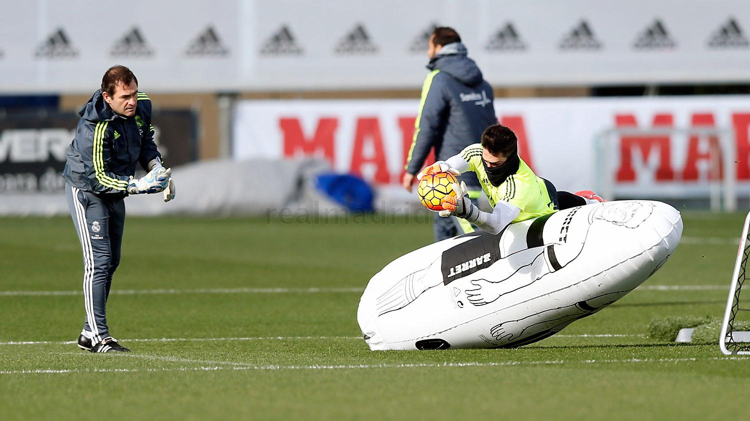Real Madrid - Entrenamiento del Real Madrid - 10-02-2016