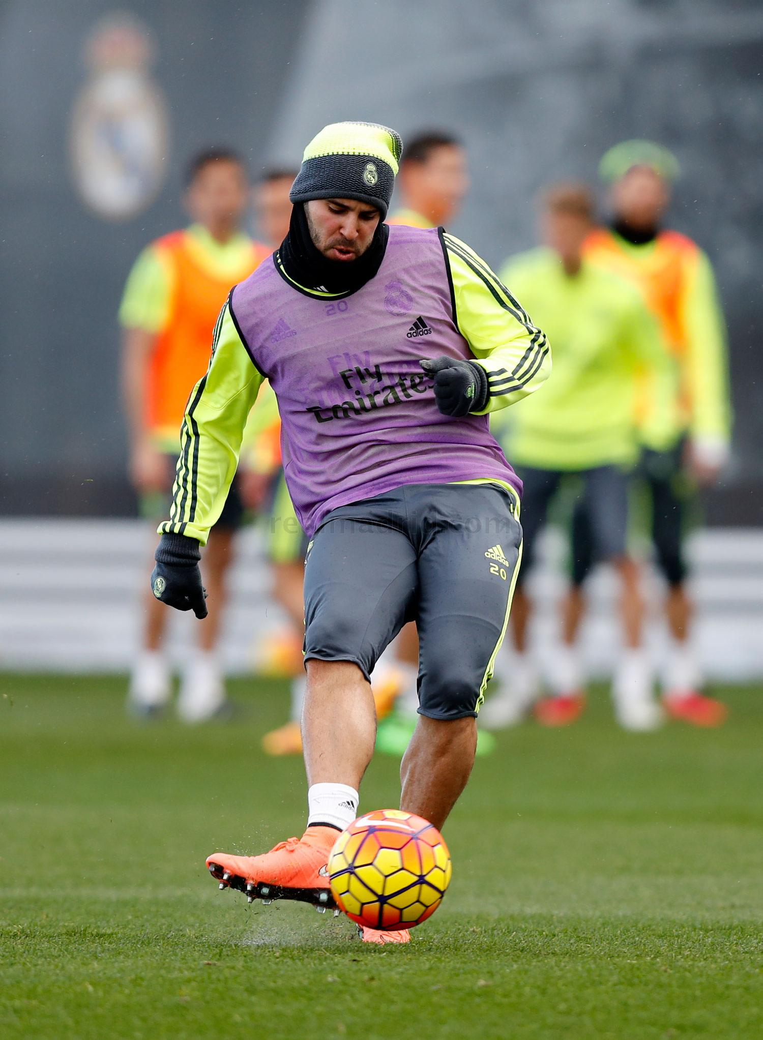 Real Madrid - Entrenamiento del Real Madrid - 11-02-2016