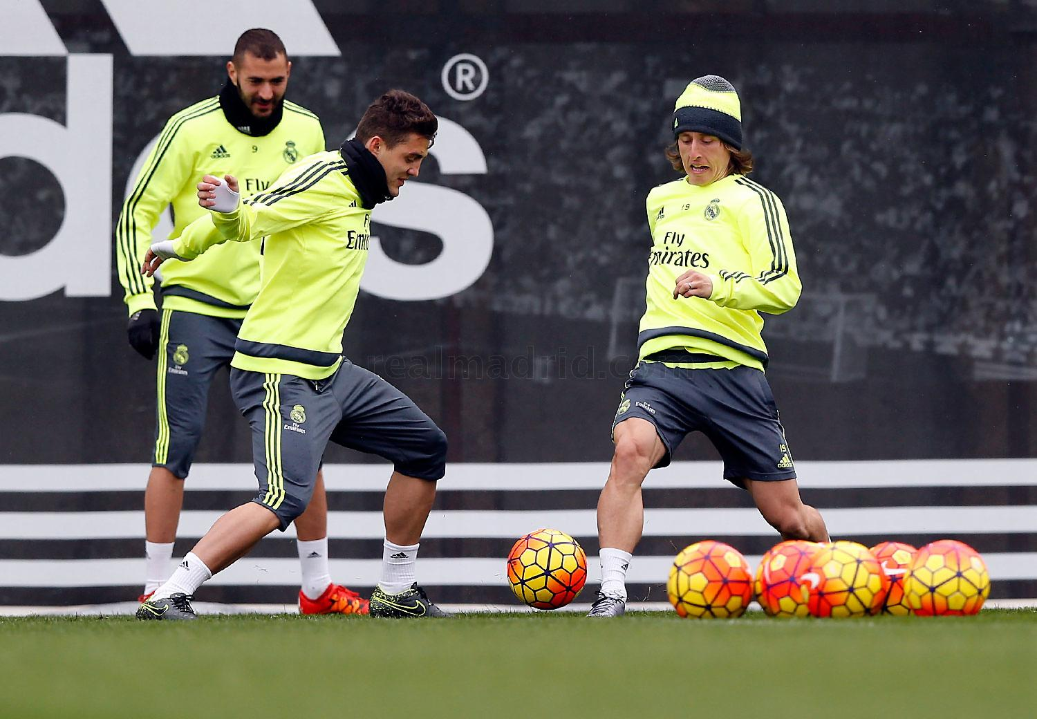 Real Madrid - Entrenamiento del Real Madrid - 12-02-2016
